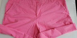 Gap boyfriend pink  shorts